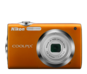 Orange  COOLPIX S3000