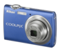 Cobalt Blue option for COOLPIX S220