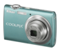 Aqua Green  COOLPIX S220