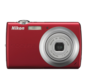 Red option for COOLPIX S203