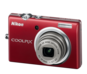 Red option for COOLPIX S570