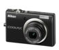 Black option for COOLPIX S570