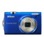 Blue option for COOLPIX S5100