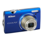 Blue  COOLPIX S5100
