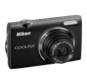 Black option for COOLPIX S5100