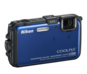 Blue option for COOLPIX AW100
