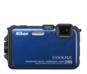 Blue  COOLPIX AW100