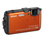 Orange  COOLPIX AW100