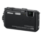 Black  COOLPIX AW100