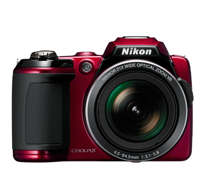 Photo of  COOLPIX L120 Red