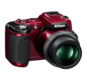 Red option for COOLPIX L120