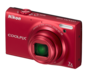 Red  COOLPIX S6100