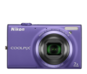 Violet option for COOLPIX S6100