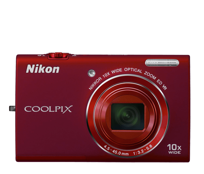 Photo of  COOLPIX S6200 Red