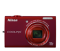 Red  COOLPIX S6200
