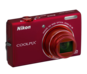 Red option for COOLPIX S6200