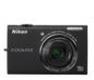 Black  COOLPIX S6200