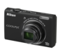 Black option for COOLPIX S6200