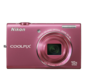 Pink option for COOLPIX S6200