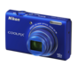 Blue option for COOLPIX S6200