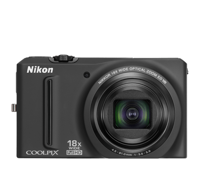 Photo of  COOLPIX S9100 Black