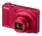 Red option for COOLPIX S9100