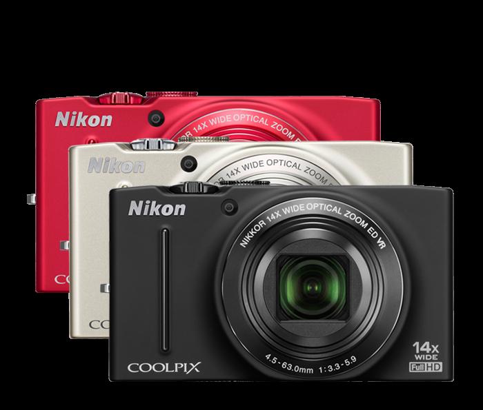 Nikon S8200 COOLPIX Compact Digital Camera | New COOLPIX Cameras ...