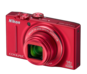 Red option for COOLPIX S8200
