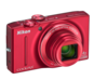 Red  COOLPIX S8200