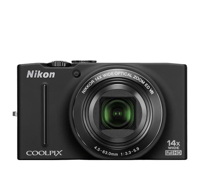 Photo of  COOLPIX S8200 Black