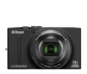 Black option for COOLPIX S8200