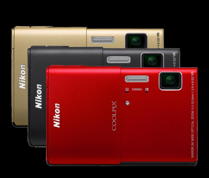 Nikon Touch Screen Camera | S100 COOLPIX Compact Digital Camera