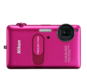 Pink option for COOLPIX S1200pj