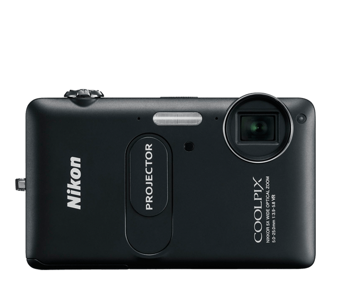 Photo of  COOLPIX S1200pj Black