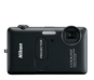 Black option for COOLPIX S1200pj