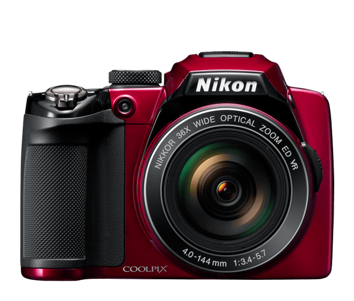 Photo of  COOLPIX P500 Red