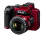 Red option for COOLPIX P500