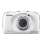 Blanco  COOLPIX W150