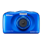 Blue  COOLPIX W150