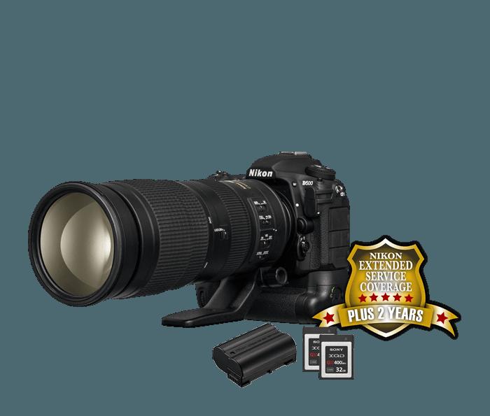 Nikon D500 Sports & Wildlife Kit | D500 DSLR with 200-500mm