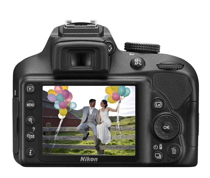 Nikon D3400 DSLR Camera | Interchangeable Lens DSLR Camera with ...