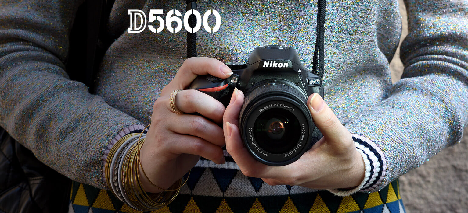 Refurbished Nikon D5600 Digital SLR Camera | Interchangeable