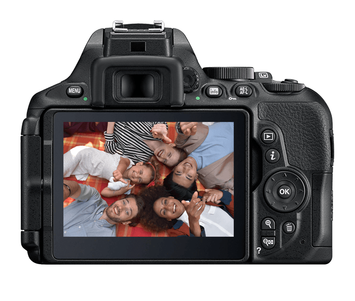 Nikon D5600 Digital SLR Camera | Interchangeable Lens Camera