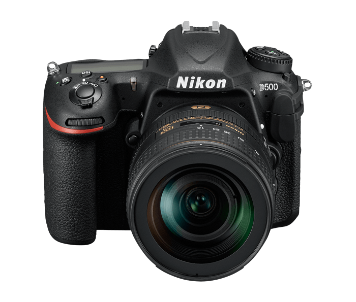 Product shot of Nikon D500