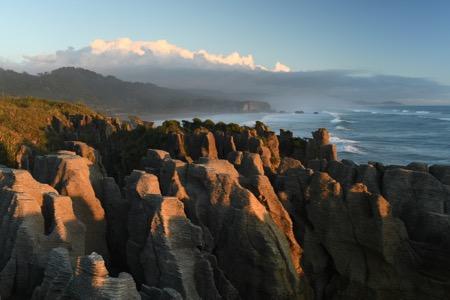 D850 DSLR photo of a landscape at the ocean
