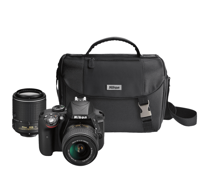 Photo of D3300 Two Lens Kit Black