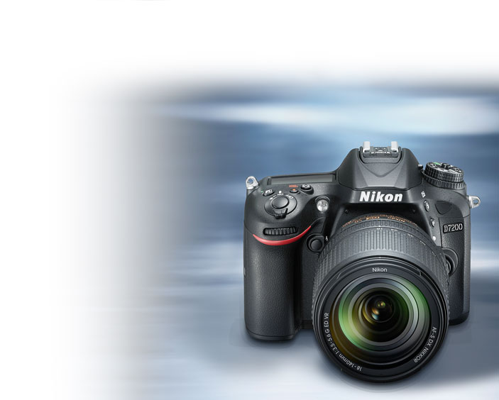 Product photo of the Nikon D7200 DSLR with the AM Challenge Ready graphic