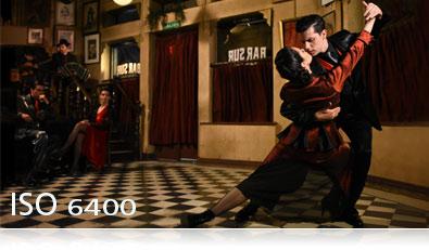 D7200 photo of tango dancers in a bar