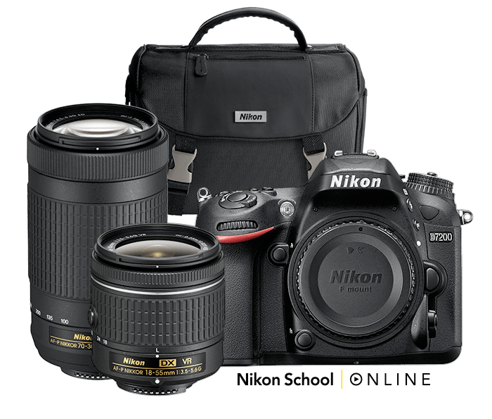 Photo of D7200 Dual Zoom Lens Kit