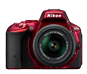 Red option for D5500